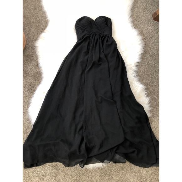 JJs House Dresses & Skirts - Black strapless dress